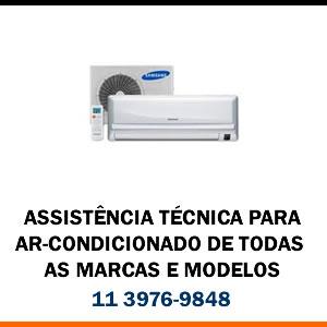 Assistência técnica ar-condicionado de todas as marcas e modelos