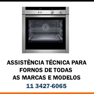 Assistência técnica forno de todas as marcas e modelos