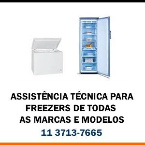Assistência técnica freezer de todas as marcas e modelos