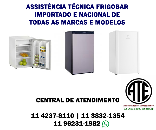Assistência técnica frigobar