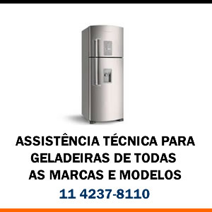 Assistência técnica Geladeira de todas as marcas e modelos