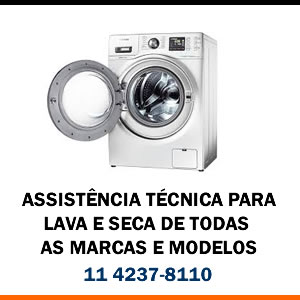 Assistência técnica Lava e Seca de todas as marcas e modelos