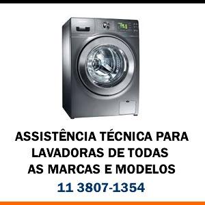 Assistência técnica Lavadora de todas as marcas e modelos