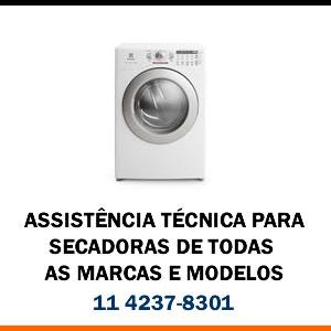 Assistência técnica Secadora de todas as marcas e modelos